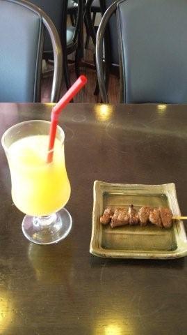 飛騨牛&りんごジュース